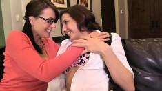 Yummy spoony babe Zoey Holloway teases her horny lesbian partner